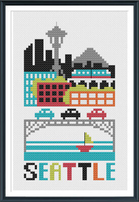 Seattle - Cross Stitch Pattern