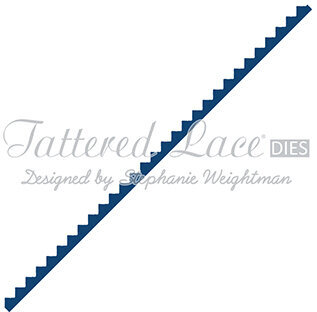 Tattered Lace Dies - Small Zig Zag Border