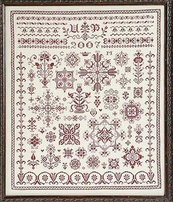 Austrian Spot Sampler - Cross Stitch Pattern