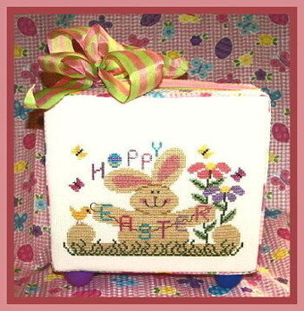 Hoppy Easter - Cross Stitch Pattern