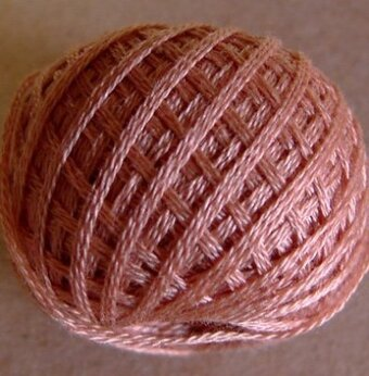 Valdani 3-Ply Thread - Faded Rust Light