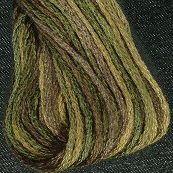 Valdani 6-Ply Thread - Olive Green