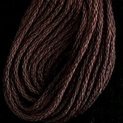 Valdani 6-Ply Thread - Rich Dark Brown