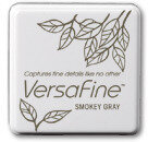 VersaFine Small Ink Pads - Smokey Gray
