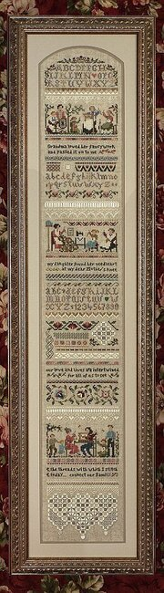 Heirloom Stitching Sampler - Cross Stitch Pattern