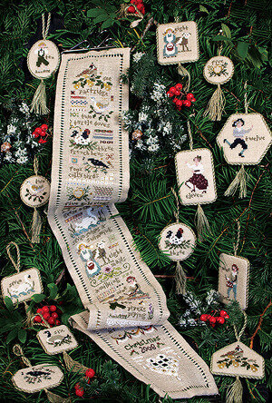 Twelve Days - Cross Stitch Pattern