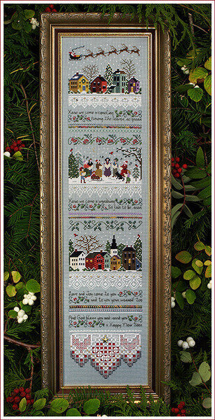 Carol Singers - Cross Stitch Pattern