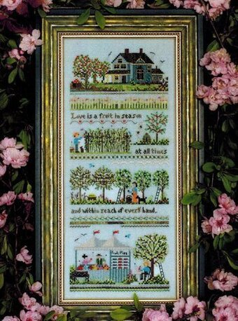 Oldfield Orchard - Cross Stitch Pattern