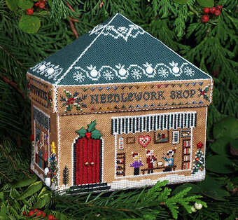 Gingerbread Needlework Shop - Cross Stitch Pattern