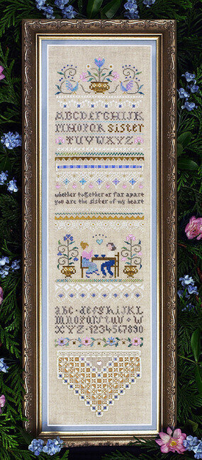 Sister Sampler - Cross Stitch Pattern