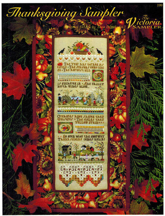 Thanksgiving Sampler - Cross Stitch Pattern