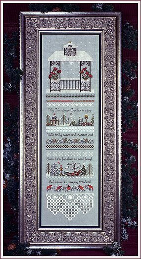 Christmas Gazebo Sampler - Cross Stitch Pattern