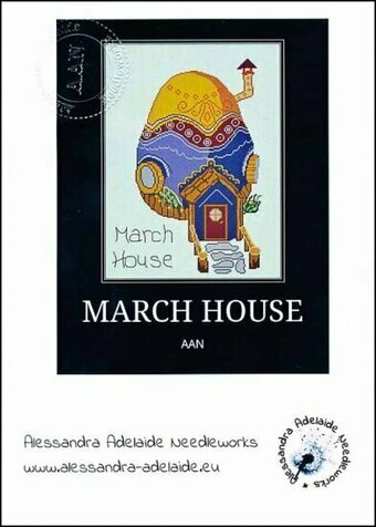 March House - Cross Stitch Pattern