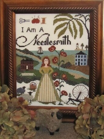 I am a Needlesmith - Cross Stitch Pattern
