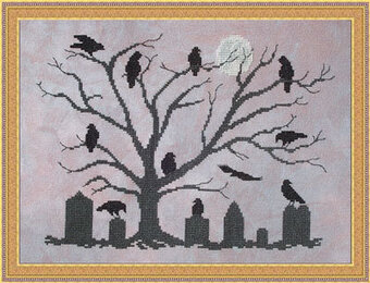 The Mourning Tree - Cross Stitch Pattern