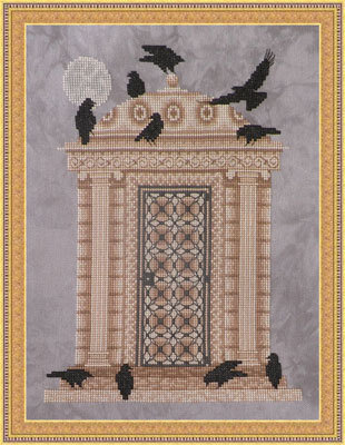 Ossuary at Twilight - Cross Stitch Pattern