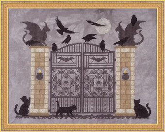 Witch's Gate - Cross Stitch Pattern