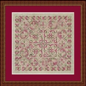 Gigue - Cross Stitch Pattern