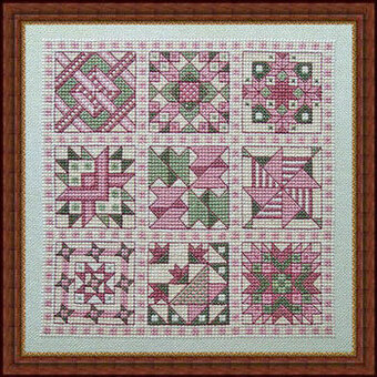 Julia's Quilt - Cross Stitch Pattern