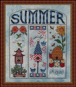 Summer Homes - Cross Stitch Pattern