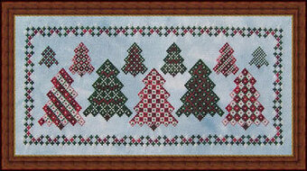 Wacky Tree Farm - Cross Stitch Pattern