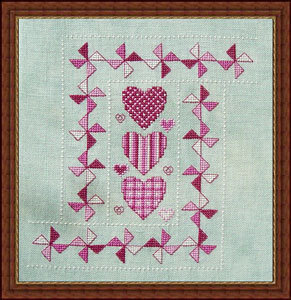 Lover's Walk - Cross Stitch Pattern