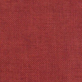 30 Count Aztec Red Linen Fabric 17x26