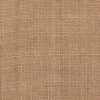 32 Count Cocoa Linen Fabric 17x26