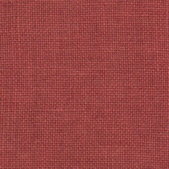 36 Count Aztec Red Linen Fabric 8x12