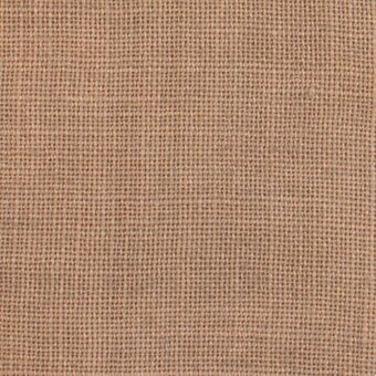 40 Count Cocoa Linen Fabric 13x17