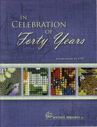 In Celebration of Forty Years - Cross Stitch Pattern