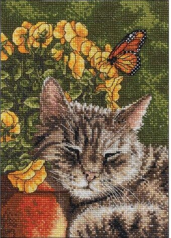 Afternoon Nap - Cross Stitch Kit