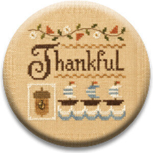 A Little Thankful - Zappy Dots Needle Nanny