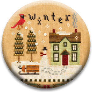 Winter - 4 Seasons - Zappy Dots Needle Nanny
