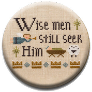 Wise Men Still Seek Him - Christian Zappy Dots Needle Nanny