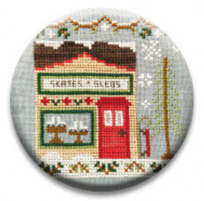 Skate and Sled Shop - Christmas Zappy Dots Needle Nanny