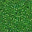 Mill Hill 00167 Christmas Green Glass Beads - Size 11/0