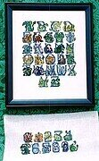 Dragon Alphabet - Cross Stitch Pattern