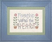 Friendship II - Cross Stitch Pattern