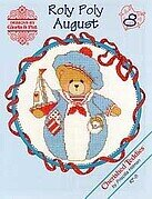 Roly Polys August - Cherished Teddies Cross Stitch Pattern