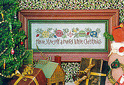 Merry Little Christmas, A - Cross Stitch Pattern