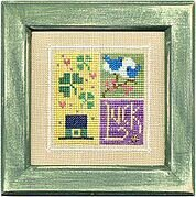 Flip-It Blocks March - Cross Stitch Pattern