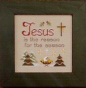 He's the Reason - Cross Stitch Pattern