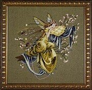 Lilly of the Woods - Mirabilia Cross Stitch Pattern