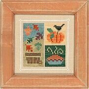 Flip-It Blocks November - Cross Stitch Pattern