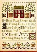 Quilt Time Sampler - Cross Stitch Pattern