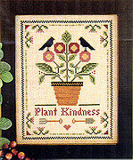 Plant Kindness - Cross Stitch Pattern