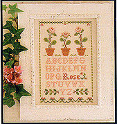 Rose Sampler - Cross Stitch Pattern