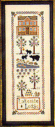 Lakeside Lodge - Cross Stitch Pattern