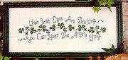 When Irish Eyes Are Smiling - Cross Stitch Pattern